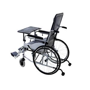互邦轮椅HBG20-B钢管折叠带餐板座便残疾人代步车 HBG20-B 半躺型