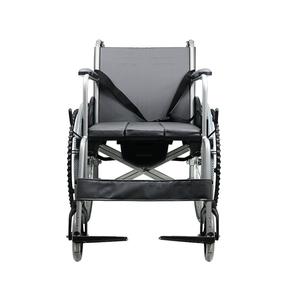 互邦轮椅车老年人铝合金可折叠HBL9-B 带手刹